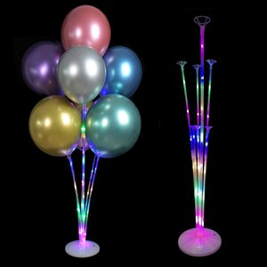 Holder Column Base Balloons Stand Balloon Stick Wedding Birthday Party Decoration Kids Adult Party Decor Balloon
