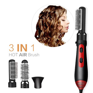 Multi Function Hot Air Styler Brush Electric Hair Dryer Blower Auto Rotating Hair Dryer Comb Negative Ion Hair Curler Straighten