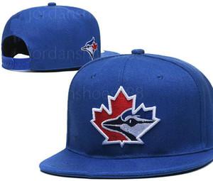 Самая новая конструкция Hot 2020 Baseball Торонто Блю Джейс Snapback Шляпы кости плоские мужские женщин бейсболки a6