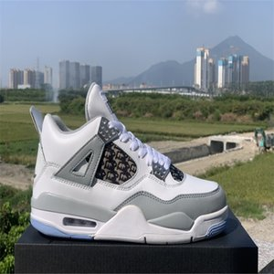 J4 2021 Новый цвет мужской баскетбольной обуви обувь обучение тренеров дышащие и удобные амортизация высокие-топ боевые сапоги