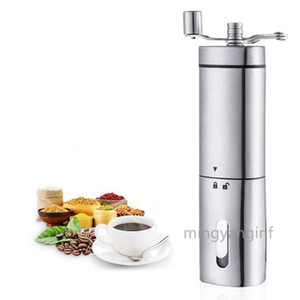 Manual Coffee Grinder with Ceramic Grinding Core Hand Coffee Beans Grinder Triangle Kitchen Manual Bean Mill Grinder MY-inf0355