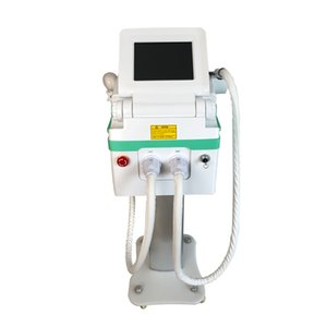 Salon Spa and Clinic Use Portable ND yag laser+ IPL OPT SHR 2 in 1 machine for tattoo pigmentation hair removal and skin rejuvenation