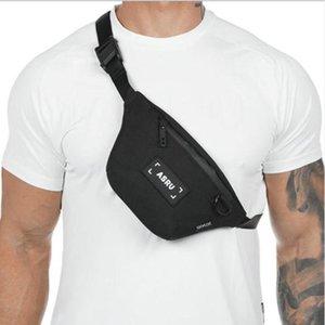 Canvas sport Fanny pack for mens leisure outdoor fitness mens and womens bag Fanny pack travel belt leg bag zipper bag