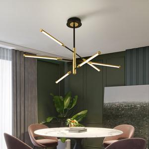 Nuova lampada soggiorno moderna illuminazione Lampadario Nordic atmosfera semplice camera da letto luce lusso Lampadario sala da pranzo