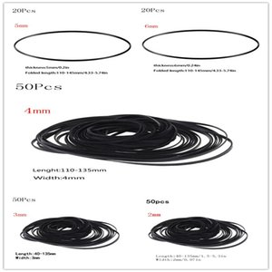 50/20pcs Universal Sortiert Gemeinsame flache Gummi-Gürtel-Mix-Kassettenband-Maschinengürtel für Rekorder Walkman-CD-DVD-Laufwerke