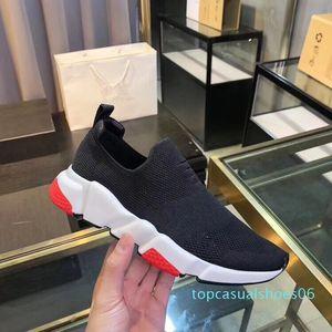 2019 새로운 Arrivlas 레드 배 블랙 플랫 캐주얼 신발 양말 T06 떨어져 패션 Luxurys를 들어 여성 남성 속도 트레이너 디자이너