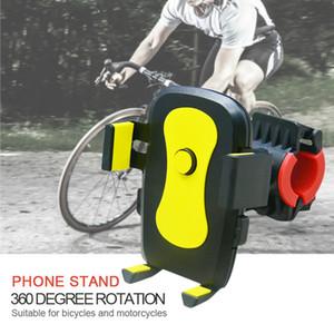 Celular Monte motocicleta bicicleta Telefone ficar Universal 360 Rotação da bicicleta Phone Holder Suporte Cellular Moto