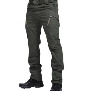 IX9 Men Militar Tactical Cargo Outdoor Pants Combat Swat Army Training Military Pants Sport Trousers for Hiking Hunting 200925