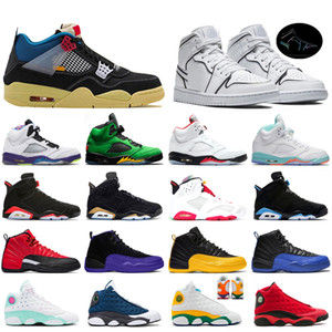 Nike air jordan retro 12s 13s uomo FIBA ​​12s più recenti 5s Dream It Do It 9s 10s Sneaker Concord 11s Cap and Gown 13s Uomo Scarpe da ginnastica