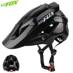 BATFOX hommes casque de vélo femmes casque de vélo intégralement moulé Vtt casques casco batfox vtt Casque vélo casques de vélo SIZEM / L