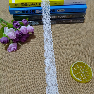 S1420 2.5cm wide white light skin lace manufacturers direct wholesale curtain accessories clothing home textile accessories