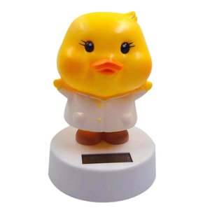Solar Pato Animated Bobble Dancer Toy Solar Car Ornamentos
