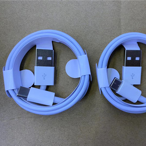 500pcs 1m 3ft 2m 6ft 7 generations cable for 6s 7 8 x plus USB Data Sync Charge phone Cable With Retail Box