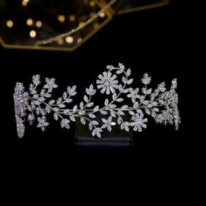 ASNORA Нью Хрустальная корона принцессы тиара партии Конкурс невесты Tiara Свадебные аксессуары для волос A00625