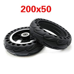 가스 스쿠터 전기 스쿠터 자동차 모바일 액세서리 합금 허브 8 인치 휠 타이어와 200x50 솔리드 타이어