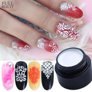 6ml Painting Carving Gel Nail Polish 3D Soak Off UV LED Gel for Manicure Multifunction Lacquer Nail Art Salon Varnish CH1501