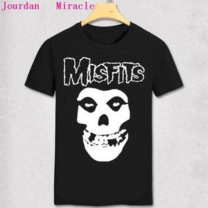 MISFITS T-Shirt BIG Schädel-Gesicht PUNK ROCK BAND MISFITS MEN T-SHIRT DER MISFITS SKULL PSYCHO HORROR PUNK T-Shirt Cool Tee
