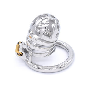 Male Standard Chastity Cage Men's Medium Size Stainless Steel Locking Belt Device Hot Selling Sexy Toys DoctorMonalisa CC271-1