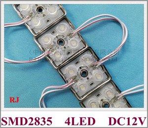 Cgjxs con la lente de módulo LED SMD 2835 Luz Led Módulo para la muestra Dc12v Smd2835 4 Led 1 .2w 120lm 38 mm * 38 mm * 8mm IP65 resistente al agua