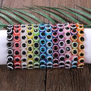 2020 Vente chaude Verre brillant Bracelets Perles Bohomian Bohomian Bohomian Charme Coloré Bracelets pour femmes Bijoux Cadeaux