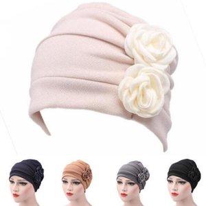 1PC Frauen Turban Hat Dame Cancer Chemo Haarausfall Cap Kopf-Schal-Verpackungs-Abdeckung