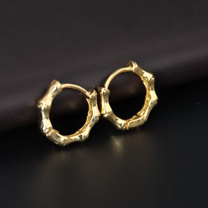 Minimalist Skeleton Design Stud Earrings Gothic Gold Silver Color Small Earring For Women Men Ear Jewelry Oorbellen