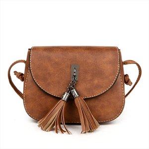 Yuhua, 2020 new women handbags, trend Korean version shoulder bag, woman messenger bag, fashion tassel flap.