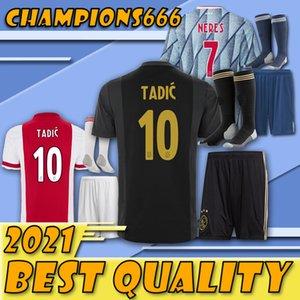 Últimos productos !!!! kit de adulto Jersey Ajax FC Fútbol 20 21 ZIYECH TADIC HUNTELAAR Dolberg SCHONE hombres juego juventud camisetas de fútbol con calcetines