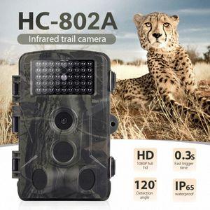 HC802A Hunting Camera 16MP 1080P Wildlife Trail Camera Photo Traps Infrared Wildlife Wireless Surveillance Tracking Cameras Wireless V htaq#