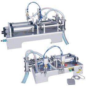 Máquina de llenado de líquido de doble cabeza Máquina de relleno de aceite de perfume Máquina de llenado de doble cabeza líquido cuantitativo