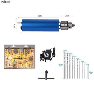 Réglable perceuse à main électrique portable DC3V-12V Moteur PCB Presse Drilling Compact Set JT0 Mandrin bricolage Outils Travail du bois de