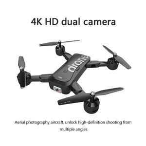 Drones Fotografía aérea Quadcopter con cámara Ultra-Altura Hold Professional Drone GPS Cámaras duales Drones Drones con cámara