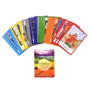 Jeu Oracle mystérieux jeu de Tarot Divination Card Deck English Board Chakra Board Card Full Cartes Destin bbyPRy yhshop2010