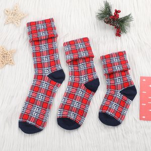 Hot Sell Parent-child Dress Up High Quality Christmas Socks Adult Children Socks Cotton Men and Women Family Socks Christmas Accessories