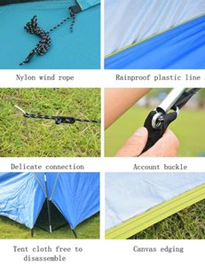 4.8x4.8m Waterproof Large Space Outdoor Beach Tent Sunshine Shelter Sturdy Sunshade Tent For Fishing Camping Hiking Picnic Park