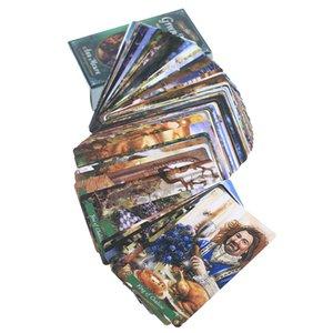 Yeşil Adet Palying Cadı Kartları Oracle Tarot Güverte Oracle Tarot Oyun Masa Oyunları Oracle 78 Kart Parti Kartları nlqbi sweet07