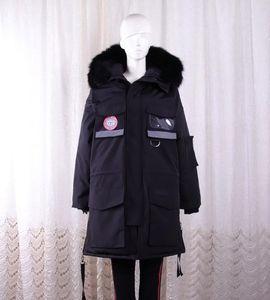 Femme de 2020SS Femmes Vetements 3M réfléchissant Hoodie veste avec BLACK LABEL Manteau Parka Sweat SZIE S-XL