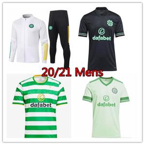 20 21 veste fc Celtic MCGREGOR GRIFFITHS Soccer Jersey 2020 2021 Klimala Survêtements BROWN CHRISTIE chemise à manches longues Costumes manteau de football