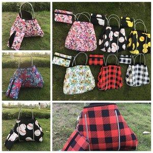 Neoprene de viagem bolsa de ombro Slant em grandes Bag manta printting Bolsas Corpo Cruz Pacote Praia Bags LJJP535
