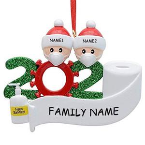 2020 regalo de la decoración del partido de cuarentena Cumpleaños De Navidad personalizada del producto superviviente de la familia de 2 3 4 5 6 7 juguetes de Navidad