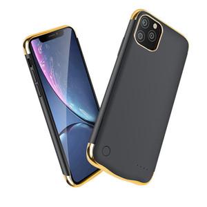 Аккумулятор чехол для iPhone 11 12 Pro Max для iPhone 7/8 плюс X XR XS макс зарядное устройство чехол противоударный внешний Slim Case питания