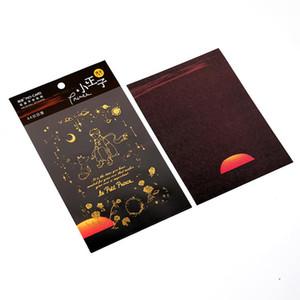 Album Journal 2 Stickers Series Pcs Sticker Dekorative Prince Aufkleber Retro Bronzing Kleine Scrapbooking Tagebuch-Stick VgmSp