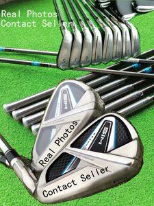 DHL rápido envio S I M MAX Golf Irons 9 Tipo Aço / Graphite Shaft Disponível