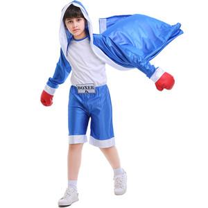 I bambini KickBoxing Lotta Robe bambini MMA Shorts Boy Girl Muay Thai Capo Grappling Formazione Trunks Boxe Uniforme Abbigliamento Fitness