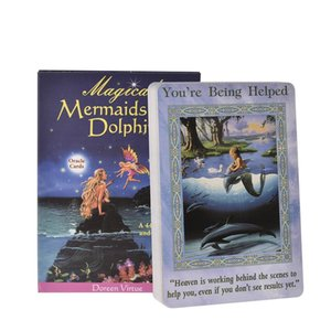 Carte Giovani Articoli per feste e sirene Dolphin Cards 44 adulti Tarocchi Giochi magici Entertainment PC Oracle Partito Consiglio bbyxAs
