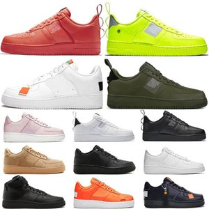 Marca SB Dunk Airs Shoes 1 High Low Cut Casual Dunk Utility Skate Shoes Casual Utility Clássico Homens Mulheres Black White Sneakers