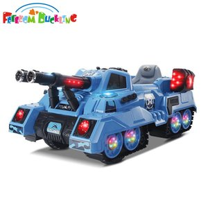 Children electric car, large tank can sit, four wheels double-drive toy, stroller with remote control