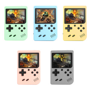 New Fashion Mini Games Console Handheld Game box Portable Classic Video Game Player 3.0 Inch Color LCD 500 Games for Kids