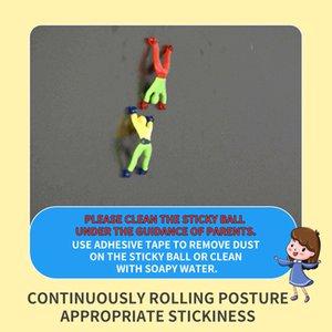 Engraçado rolando brinquedos Escalar uma parede cor ninja pessoas de alta qualidade entretenimento divertido dom brinquedo do miúdo