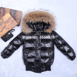 12M-8Y Kinderdaunenjacke Schnee Abnutzungsjacke für Mädchen Säuglingsbaby Oberbekleidung babys Jacken mit Kapuze Kinder Wintermäntel Y200831